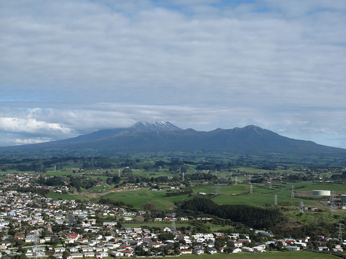 Mt. Taranaki in the distance