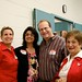 Ontario Minister of Education, Hon. Kathleen Wynne, Sandra and Brian Levy with Karen Mock