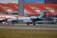 D-AJJK - Windrose Air - Gulfstream G550 - Luton - 090218 - Steven Gray - IMG_9353