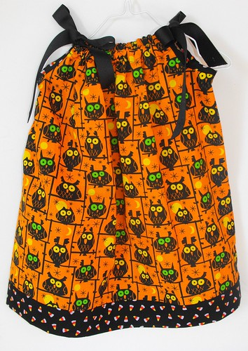 Halloween Pillowcase Dress Top