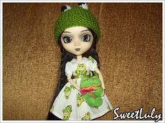 33/365 - Pullip Frog - Dark Version (SweetLuly) Tags: dolls pullip kimberly sapos chill pullipchill polypop gizamartins pullipfrog 365kimimia
