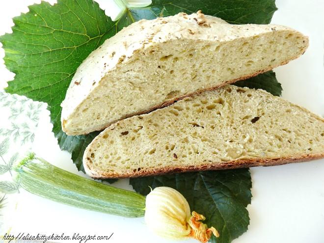 Pane con le zucchine