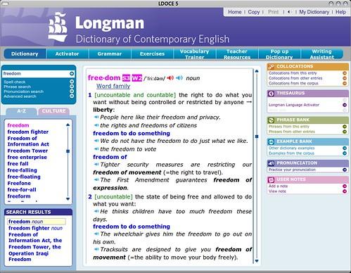 LDOCE5 Linux