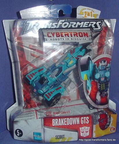 Brakedown Cybertron Scout Transformers 001