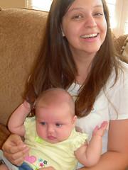 Pulling Auntie's hair (leesepea) Tags: sweetpea
