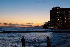 Oahu-696 (blazerat) Tags: sunset hawaii oahu waikikibeach