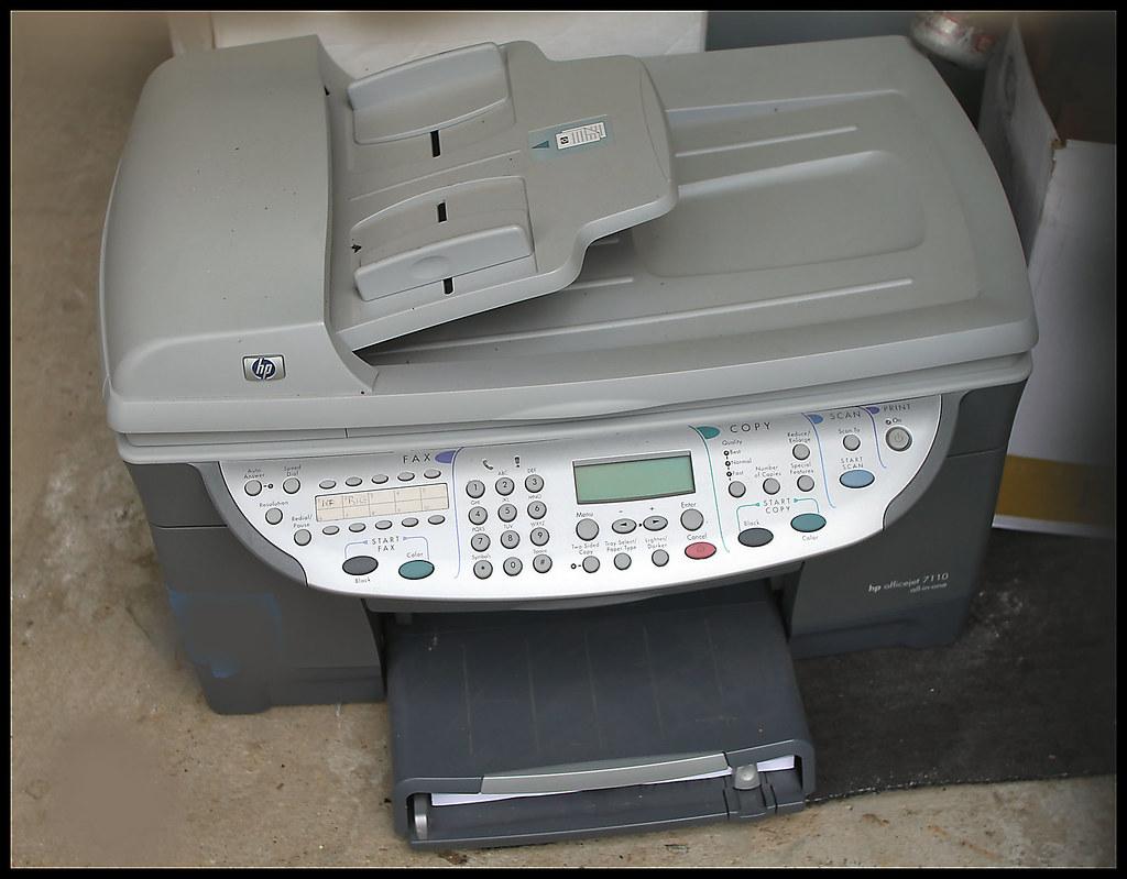 HP printer Office jet 7110