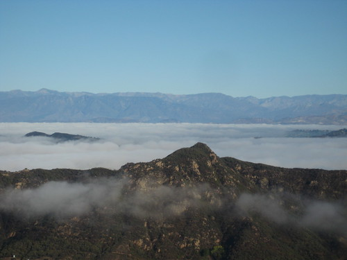 fog over Ventura County