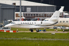 LN-SOV - 680-0183 - Private - Cessna 680 Citation Sovereign - Luton - 090507 - Steven Gray - IMG_2230