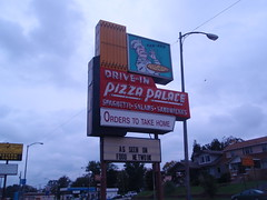 the Pizza Palace restaurant