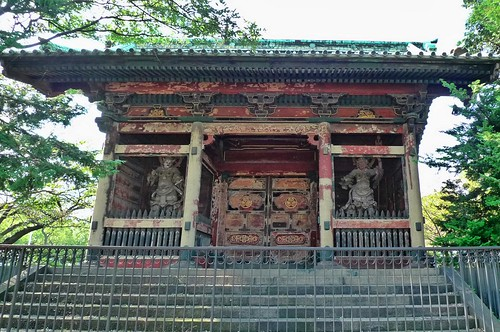 Nitemon gate Zojoji