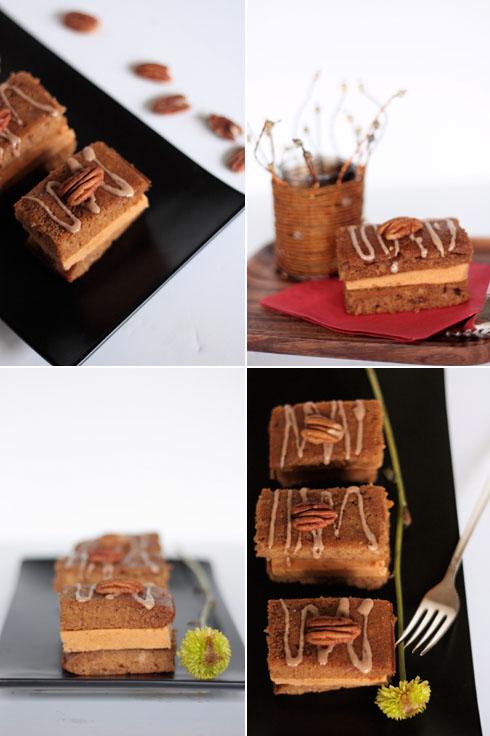 Pumpkin Gingerbread Ice Cream Sandwiches [quad]