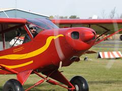Gilles Lalier  L-Cub Super Charger @ St-Mathias CSP5  DSC_7712b (djipibi) Tags: cub airport 2009 supercub aroport stmathias hydrobase csp5 cubtoberfest csv9
