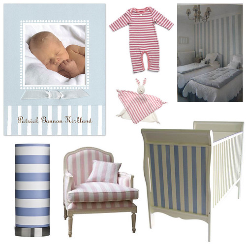 Cabana Stripes Nursery