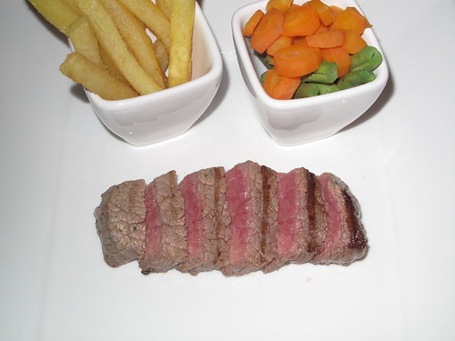 The complete steak meal