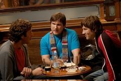 el trío de colegas