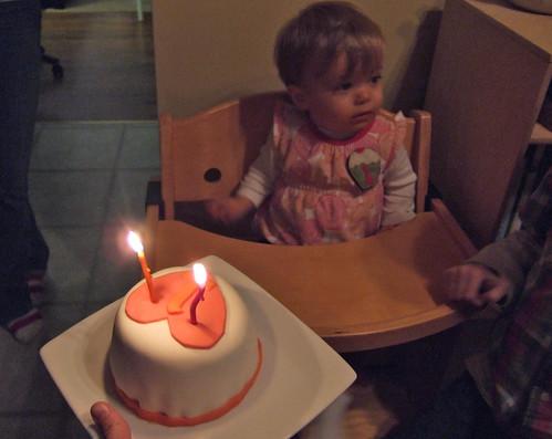 Mini cake for the L-monster