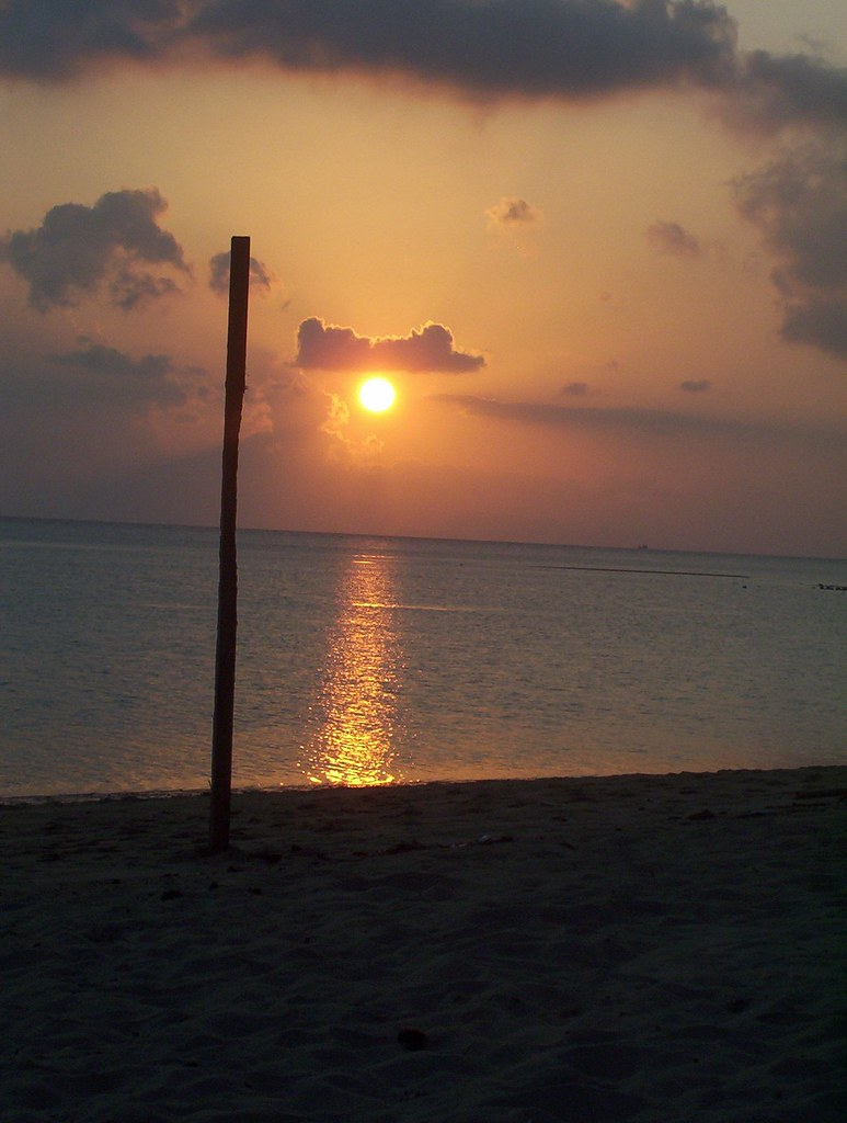 Sunset at Mac Bay resort, Koh Phangan