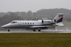 TC-MEN - 60-335 - Private - Learjet 60 - Luton - 091103 - Steven Gray - IMG_3374