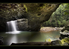 Natural Arch - Springbrook National Park (danishpm) Tags: canon eos waterfall rainforest rocks australia wideangle naturalbridge queensland aussie aus 1020mm springbrook goldcoasthinterland naturalarch sigmalens springbrooknationalpark eos450d 450d colorphotoaward bestofaustralia sorenmartensen