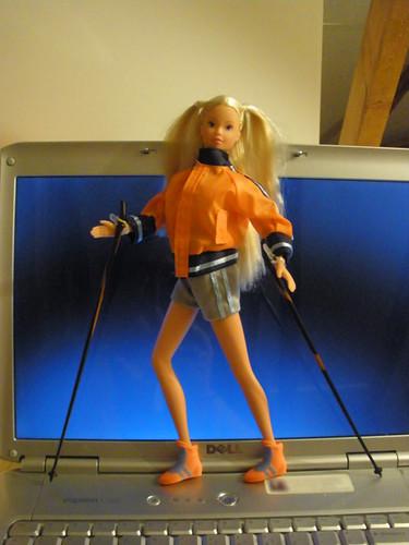 Nordic Walking Steffi Love fashion doll €3