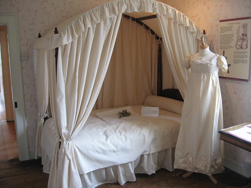 Jane Austen's bedroom