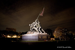 Marine Corps Iwo Jima Memorial (rhilton4u) Tags: usa usmc arlington america virginia dc washington memorial nps nationalmall monuments marinecorps memorials