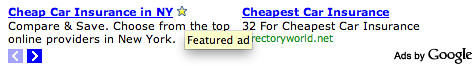 Google AdSense Feature Ad