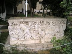 Sarcophagus Damascus Museum (Verity Cridland) Tags: museum sarcophagus syria damascus