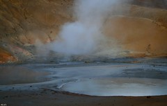 HAVE A GREAT WEEKEND (Helga*) Tags: iceland helga hotspring reykjanes seltn