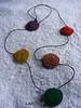 VENDIDO.- (lavestruz) Tags: necklace handmade circles bonito artesanal colgantes collar macrame makrame circulos tejido macramé encerado