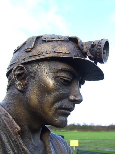 Auchengeigh miner's memorial 10