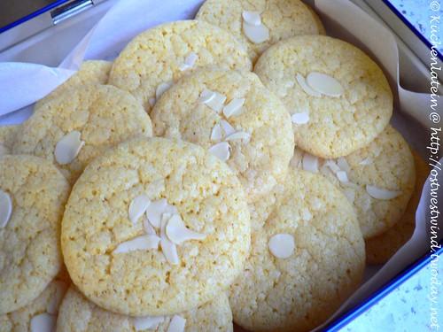 Knusprige Orangen-Mandel-Kekse