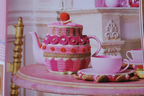 crochet teacozy