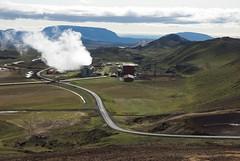 Krafla Geothermal Power Plant (robnunn) Tags: volcano iceland crater caldera geothermal myvatn krafla viti smcpentaxda1650mmf28edalifsdm