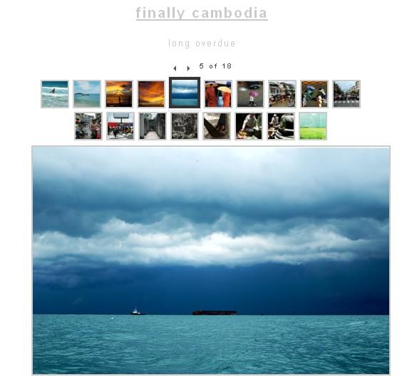 """""""Finally, Cambodia"""""""