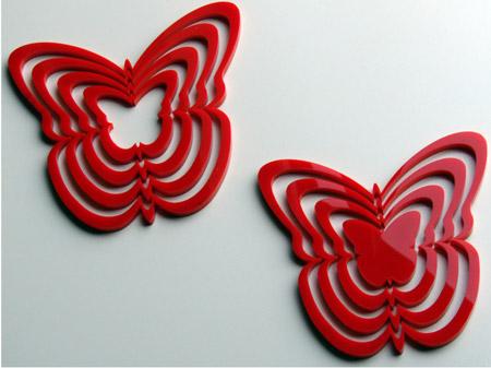 vinilo-3D-mariposas