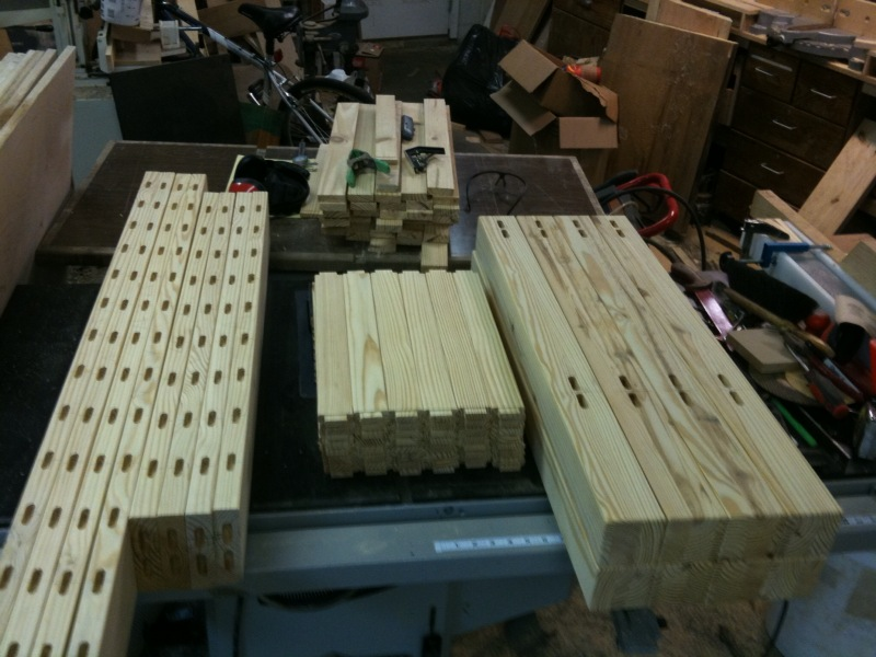 Mortises made with Mortise Pal