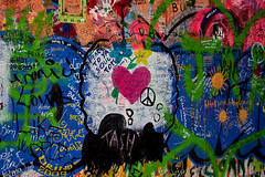 Love and Peace (Jarod Carruthers) Tags: john republic peace czech prague lennon wal