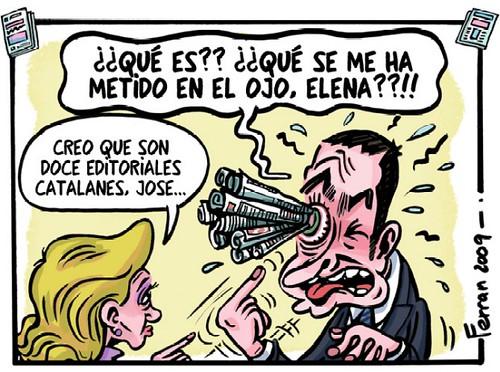 Ferran sobre la editorial conjunta de los medios catalanes
