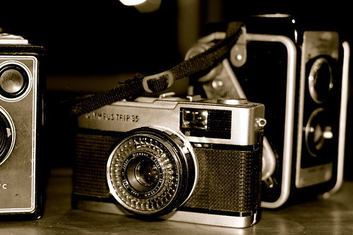 Friday: Vintage Camera Collection