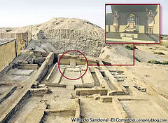 Naylamp's temple discovered in Lambayeque