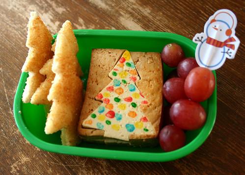 Kindergarten Bento #270: December 8, 2009