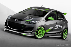 Race-Ready MAZDA2 Design Concept (MAZDA USA) Tags: auto cars car zoom mazda automobiles mazda2 mazdausa
