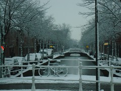 Gasthuislaan, Delft (crwilliams) Tags: snow netherlands delft date:month=december date:day=17 date:year=2009 date:hour=09 date:wday=thursday