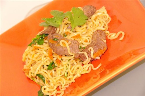 Asian Beef & Noodle Bowl