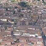 Cusco: El Centro Histórico del Cusco, divisado desde el suroccidente