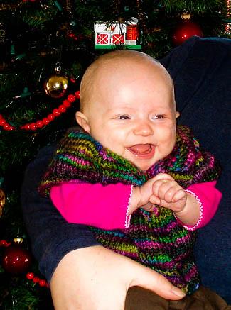Christmas with Baby V
