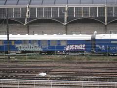 Train Tuning by Horf (tofz4u) Tags: streetart paris train wagon graffiti railway tags tuning austerlitz sncf streeart artderue chemindefer 75013 hallesernam horfe horphe hallefreyssinet