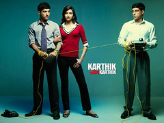 [Poster for Karthik Calling Karthik]